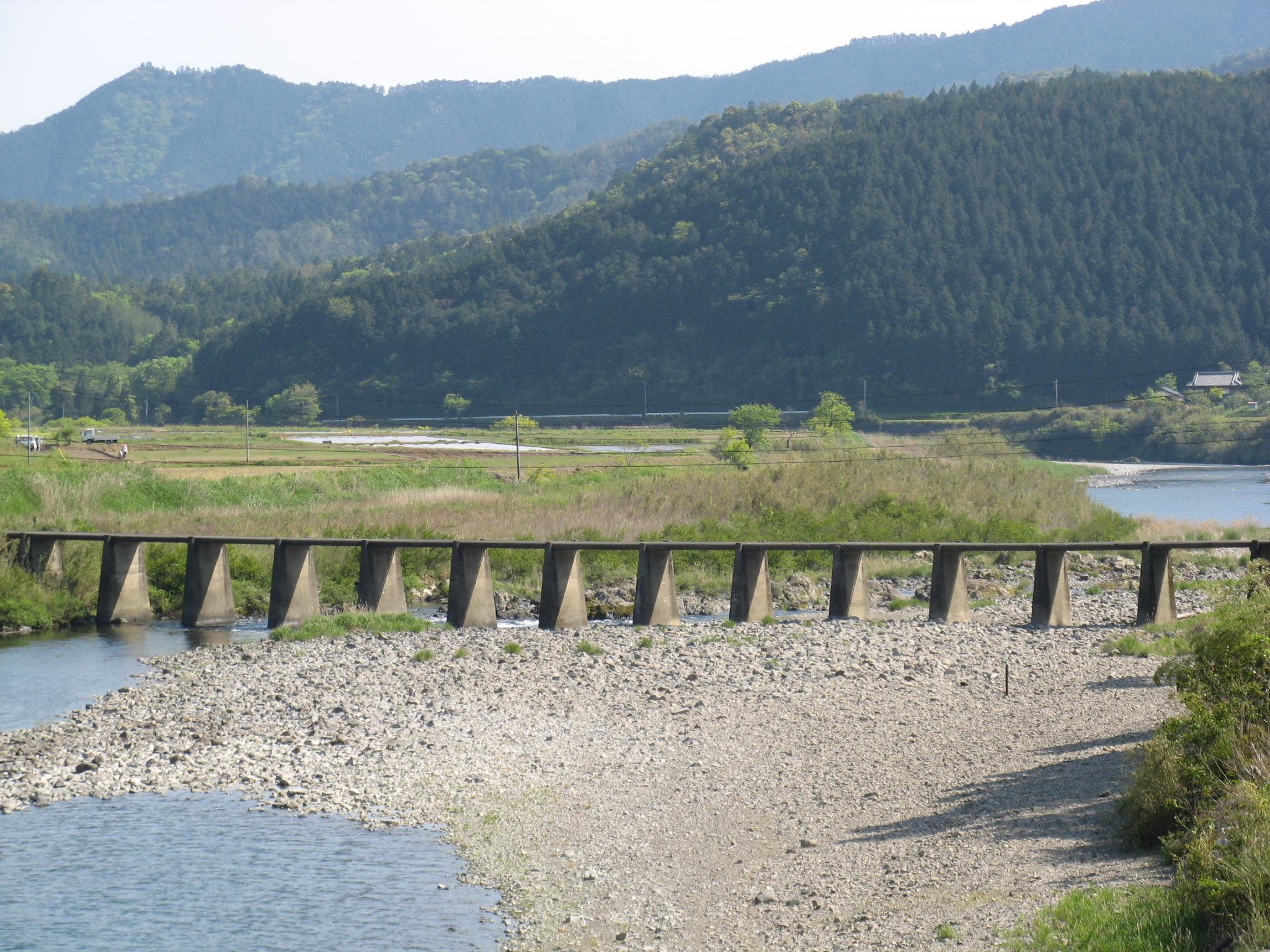 四万十川の沈下橋
